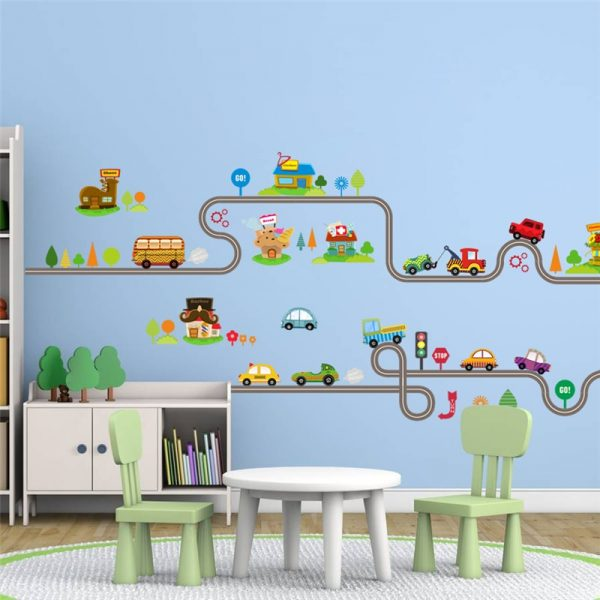 Wall Stickers for Kids Cars Design