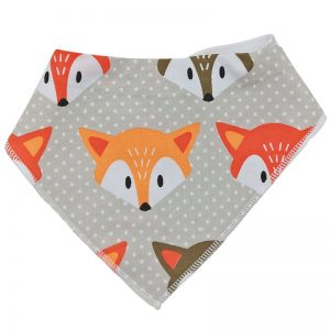 Washable Infant Bibs With Print