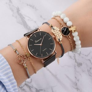 Watch and Bracelet Set for Women