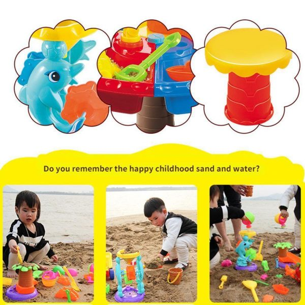 Water Play Table Activity Toy Set 3