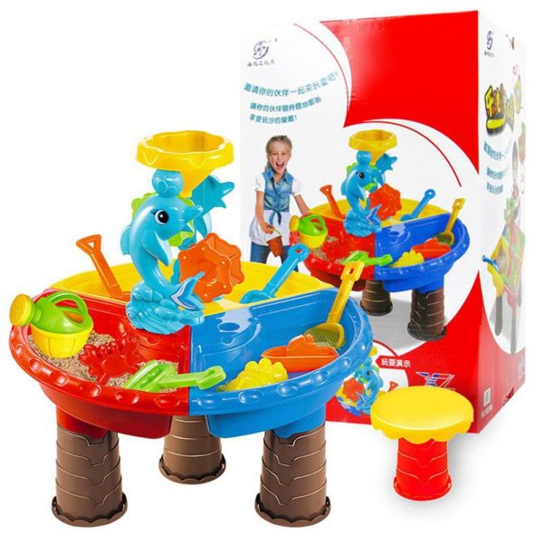 Water Play Table Activity Toy Set 4