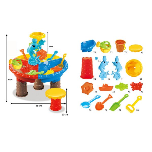 Water Play Table Activity Toy Set 7