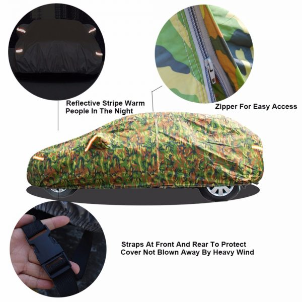 Waterproof Car Cover Camouflage Design 1