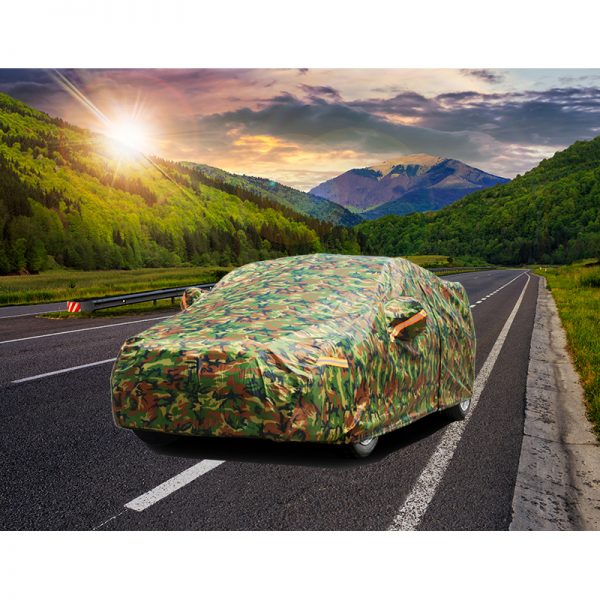 Waterproof Car Cover Camouflage Design 3