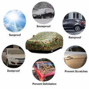 Waterproof Car Cover Camouflage Design