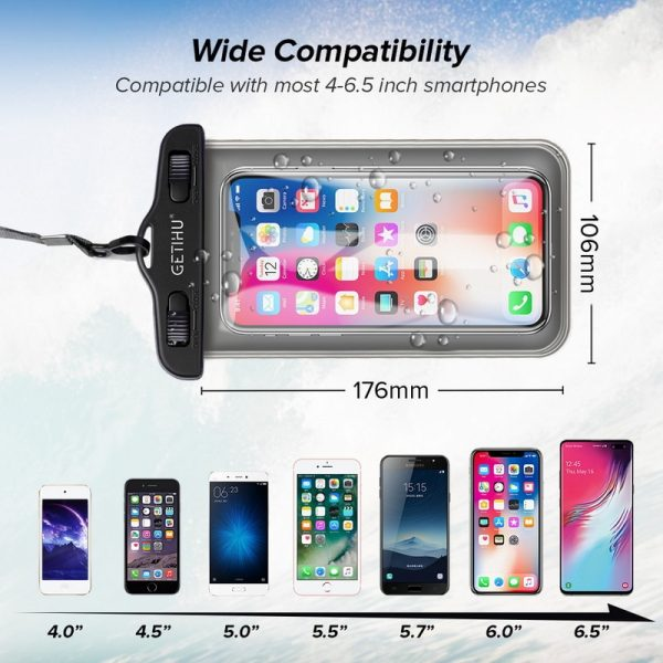 Waterproof Mobile Pouch Universal Case 3