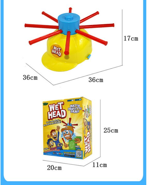 Wet Head Water Roulette Game Set 2