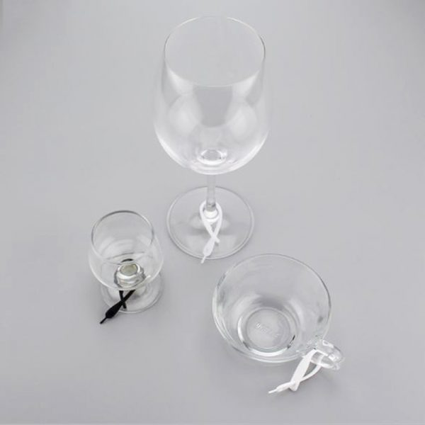 Wine Glass Marker Silicone Tags 12pcs 4