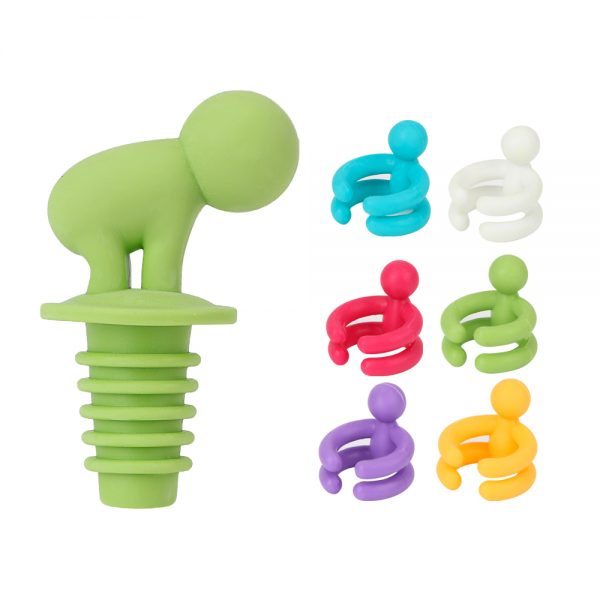 Wine Stopper with Six Wine Glass Grips 4