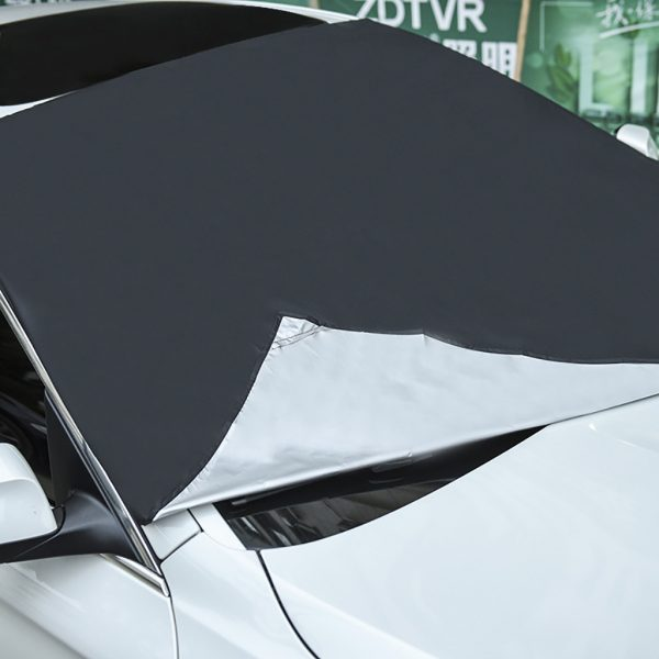 Winter Windshield Cover Magnetic Sunshade 3