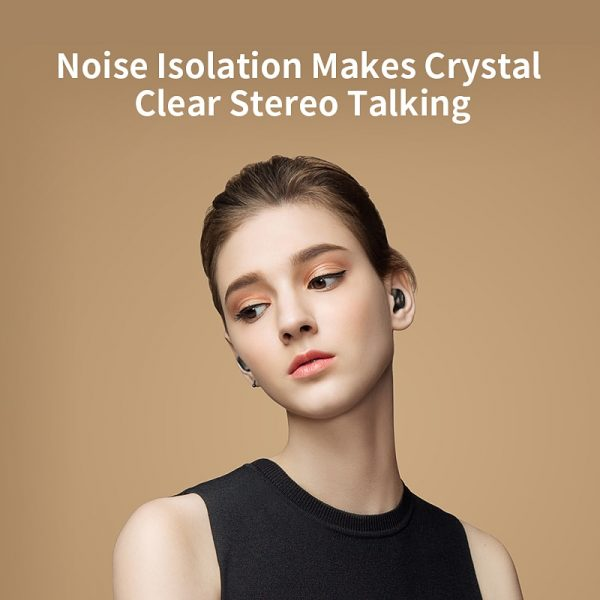 Wireless Noise Canceling Earbuds Bluetooth 4