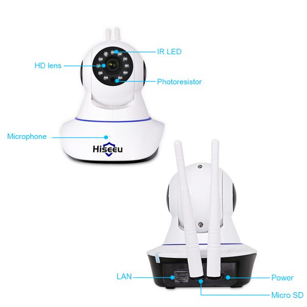 Wireless Security Cameras Monitoring System
