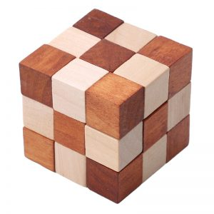 Wooden Puzzles for Adults (6 sets)