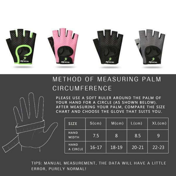 Workout Gloves Hand Protector 4