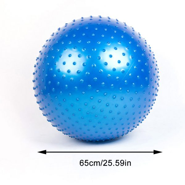 Yoga Ball Protection Explosion proof Fitness Ball 65CM Thickened 3