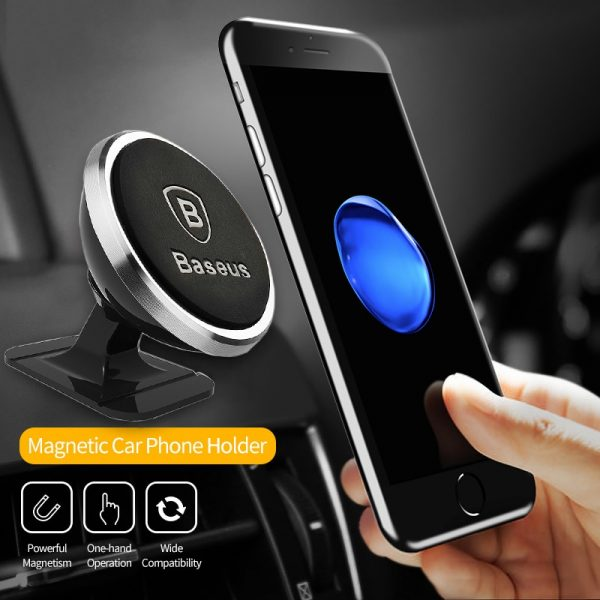 iPhone Car Mount Magnetic Phone Holder 3