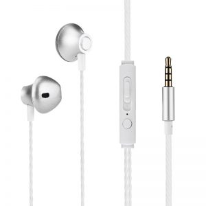 1.2M Wired Headphones 3.5MM Sport Earbuds with Bass Phone Earphone Wire Stereo Headset Mic Music Earphone