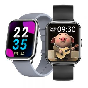 [1.7inch Large Screen] Bakeey X27 Weather Forecast 24 Sports Modes Smart Watch 7x24h Heart Rate Monitor IP68 Music Control Wristband