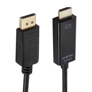 1.8M DP to HDMI Cable Adapter Cable 4Kx2K Resolution HD Displayport To HDMI Converter