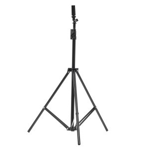 1.9m Height Adjustable Cosmetology Tripod Wig Stand Holder for Doll Head Hairdressing Training