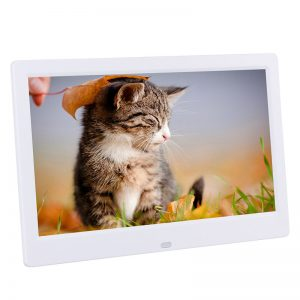10 Inch 1024x600 HD IPS LCD Digital Photo Frame Audio Video Player Support SD USB MMC MS Card with Remote Control