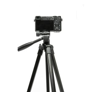 100BTF BY268 Aluminum Alloy Foldable 41CM 130CM Tripod with Ball Head for DSLR Sport Camera Smarphone