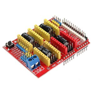 10X Geekcreit CNC Shield + UNO R3 Board + 4x A4988 Driver Kit With Heat Sink For  3D Printer