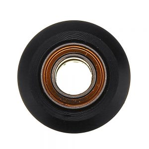 10pcs MR105zz Little Size Flat Type Plastic Pulley Concave Idler Gear With Bearing for 3D Printer