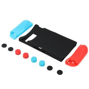 11-In-1 Silicone Case Cover Joystick Cap for Nintendo Switch Game Console Joy-Con gamepad