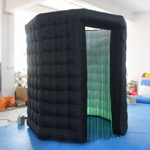 110V/220V 3Mx3Mx3M Octagon Inflatable LED Photo Booth Photography Shooting Tent