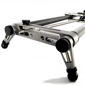 120CM Electric Focus Carbon Fiber Slider Dollies Rail Widened Camera SLR Electronically Controlled Rail APP Control