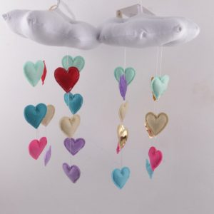 1PC Soft Baby Room Cotton Clouds Wall Hanging Room Ornaments Scene Photography Props Home Decor