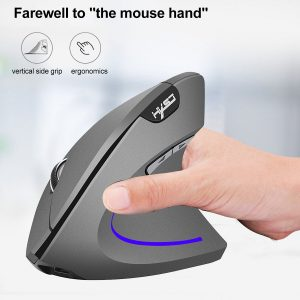 2.4GHz Wireless Vertical Mouse With Receiver 2400DPI Laptop/Desktop