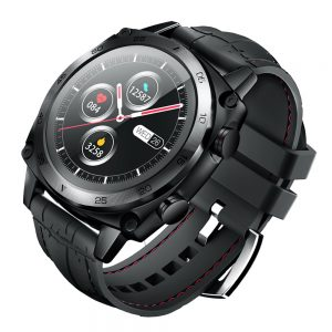 [2.5D Curved Display] CUBOT C3  1.3 inch Touch Screen Heart Rate Monitor Multi-Sport Modes Watch Faces 5ATM Waterproof Smart Watch