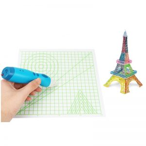 220*220*0.5mm Basic Graphics Copy Panel Design Mat Drawing Tools For 3D Printing Pen Part