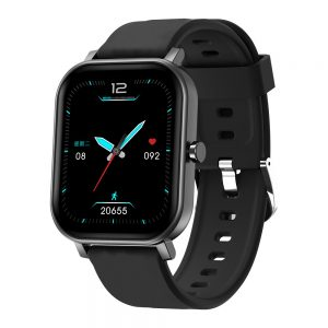 [24 Professional Sport Modes] ALLCALL S10 1.69 inch Touch Screen Heart Rate Blood Pressure Oxygen Monitor BT 5.0 IP68 Waterproof Smart Watch