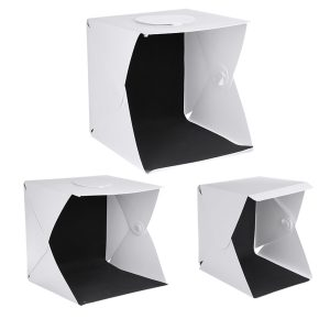 3 Size Portable LED Light Box Softbox Soft Box Studio Tent Folding Photo Studio Built-in Light With Magnetic Buckle