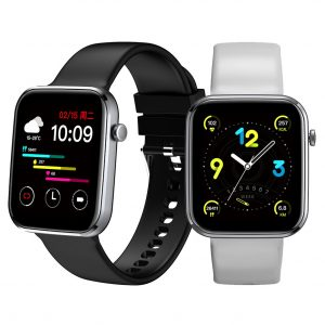 [30-Day Long Standby] SENBONO LIFE1 1.69 inch Full Touch Heart Rate Blood Pressure Oxygen Monitor Breath Training Music Control Multiple Sport Modes 220mAh IP67 Waterproof Smart Watch