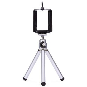 360 Rotation Tripod Bracket Mount Holder Stand For Camera Cell Phone