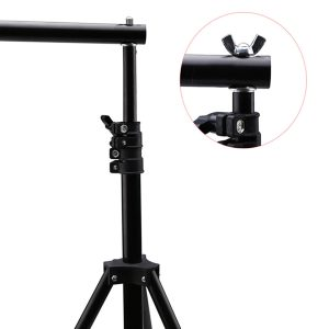3m Adjustable Background Cross Bar Kit For Photo Studio Backdrop Support Stand