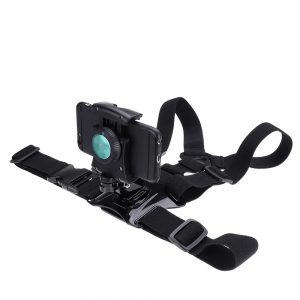 4-6 Inch Mobile Phone 360 Degree Rotation Holder Clip Breast Strap Mount Stabilizer for Phone DV Sport Camera