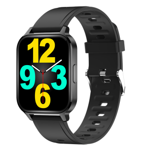 [45 Days Long Standby]Bakeey V18T 1.7 inch Touch Screen BT5.0 Heart Rate Blood Pressure Body Temperature Monitor Music Control Multiple Sports Modes Smart Watch