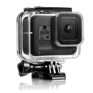 45M Waterproof Diving Protective Dustproof Shockproof Case Shell Cage for GoPro Hero 8 Black Action Sports Camera
