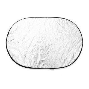 60x90cm 5 in1 Round Collapsible Photography Reflector Studio Light Reflector Diffuser Photography Props
