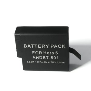 AHDBT-5011220mAh Lithium Battery Rechargeable Battery for Gopro Hero 5 6 7 Camera