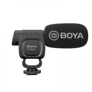 BOYA BY-BM3011 Microphone Cardioid Directional Condenser Mic for Smartphone DSLR Camera DV Camcorder Audio Recorder PC