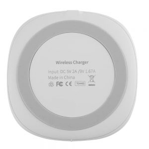 Bakeey 10W 5W Fast Charging Pad Wireless Charger For iPhone XS 11Pro Huawei P30 Pro Mate30 Xiaomi Mi10 5G