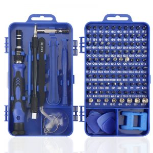 Bakeey 9804 115-IN-1 Multifunctional Professional Precision Screwdriver Set for Electronics Mobile Phone Notebook Watch Disassemble Repair Tools Practical Portable Widely Used