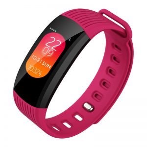 Bakeey C36 0.96' Color Screen Watch Face Change Wristband 24 hours Continuous Heart Rate Monitor Smart Watch