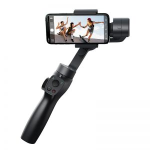 Baseus 3-Axis Handheld Gimbal Stabilizer bluetooth Selfie Stick Outdoor Holder w/Focus Pull Zoom for iPhone Action Camera
